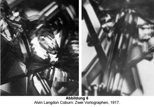 Alvin Langdon Coburn: two Vortographs, 1917