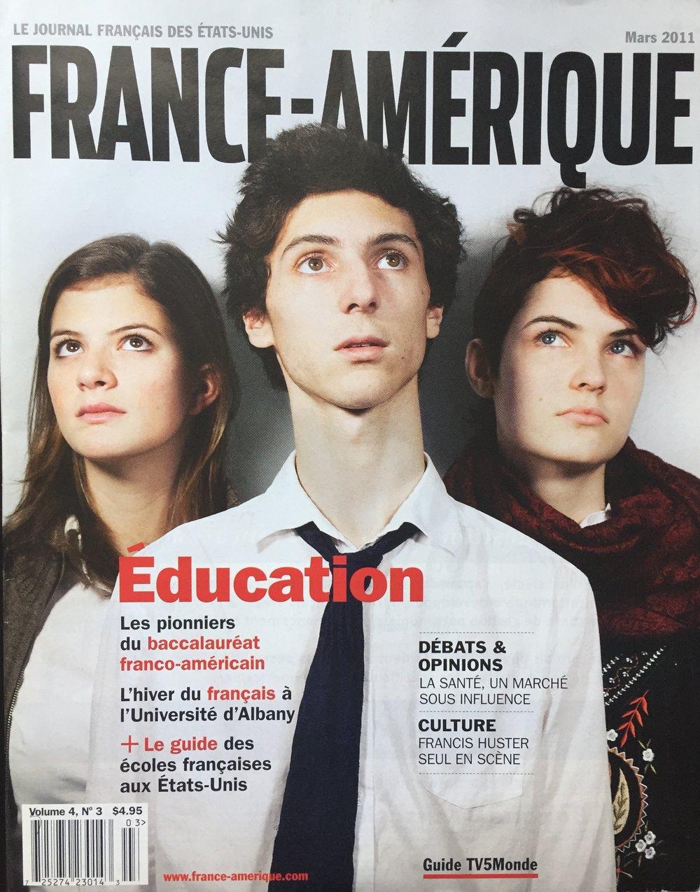 France-Amérique - March 2011