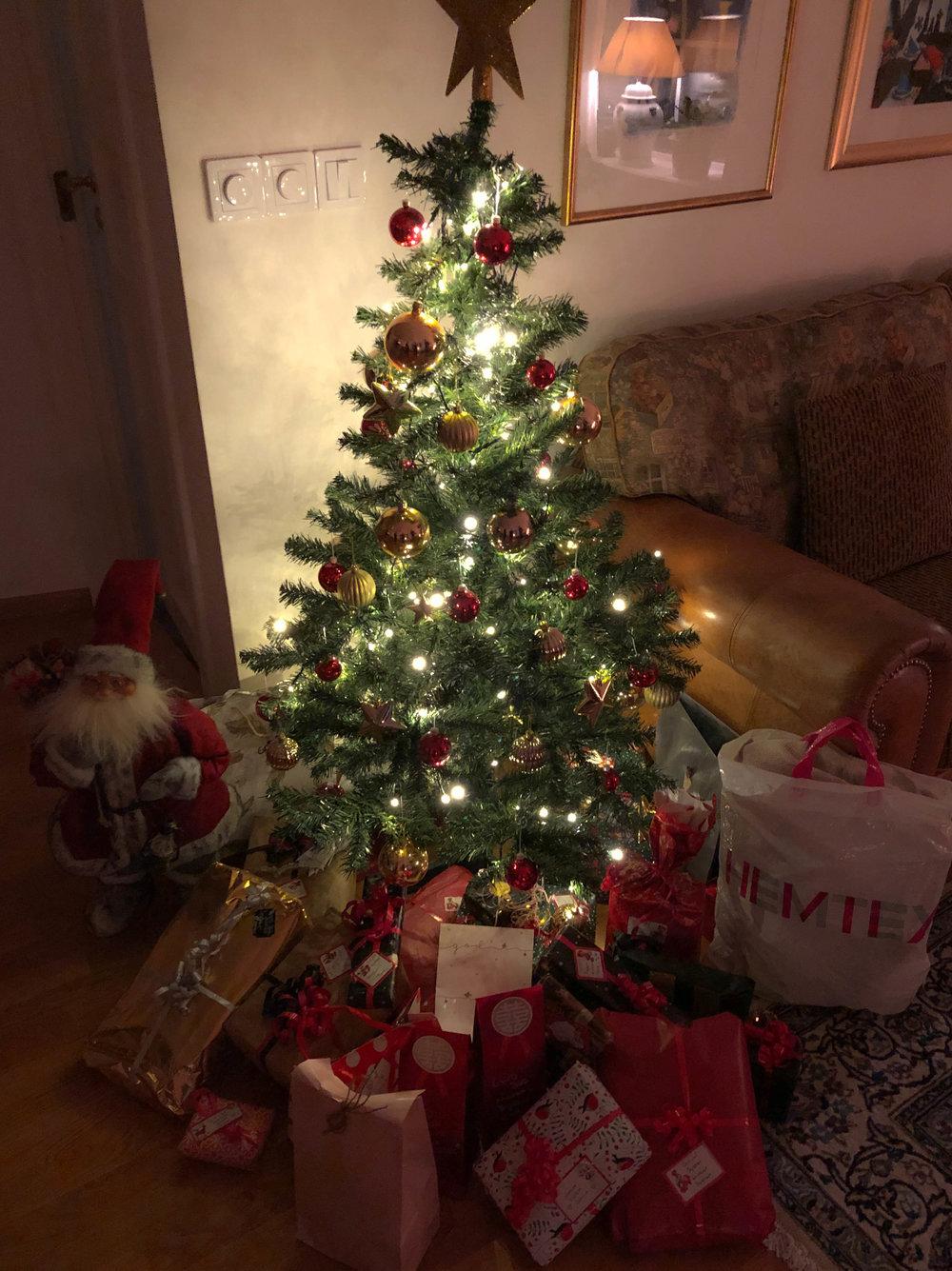 Önskade mig köksgeråd i julklapp, kastruller osv. Fick det. Det var kul.