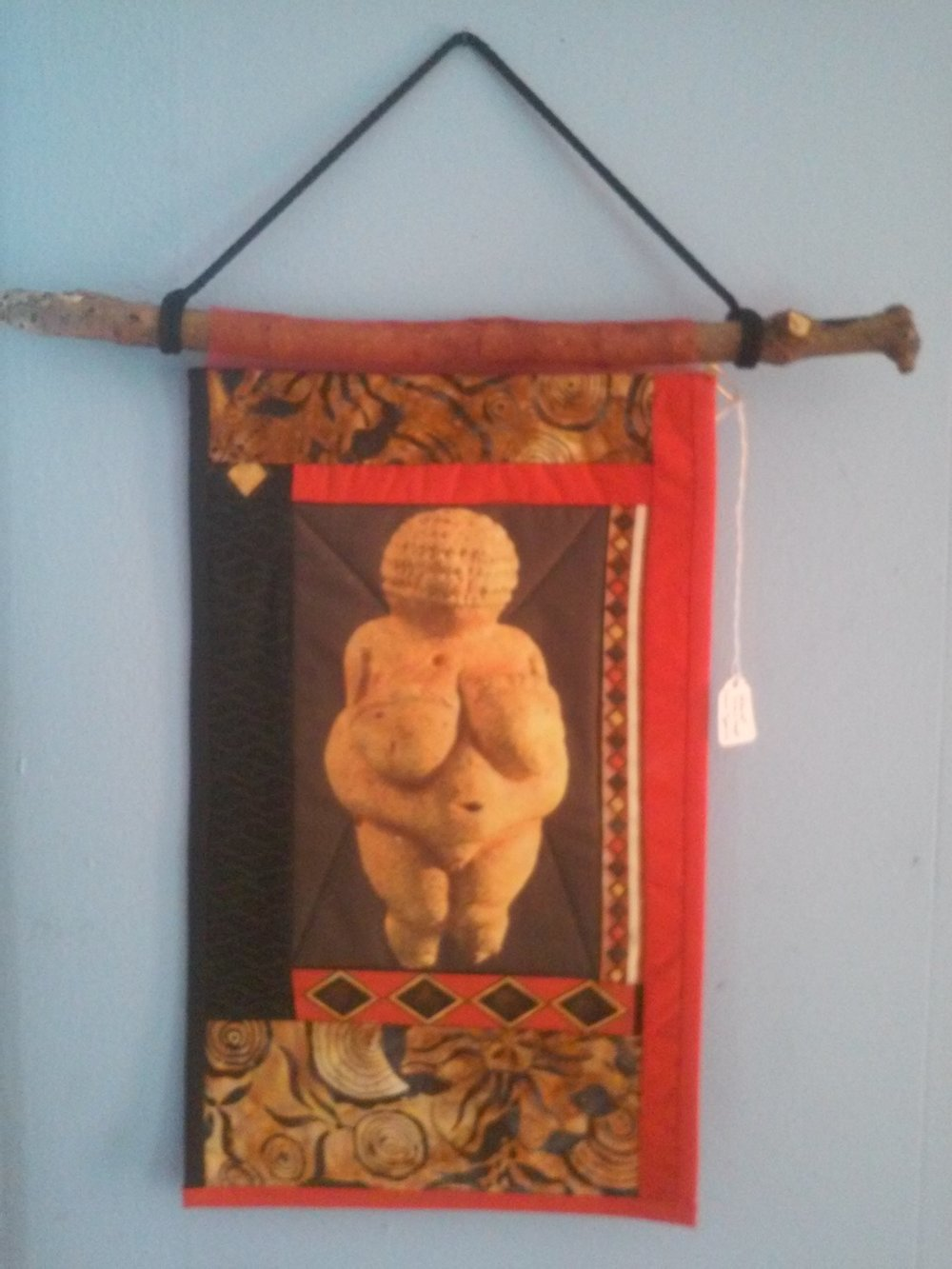 Willendorf Banner by Palmira Dorico