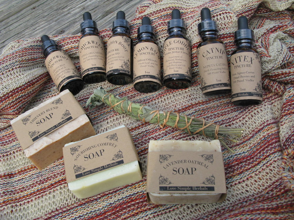 Herbal Tinctures & Soaps by Lauren