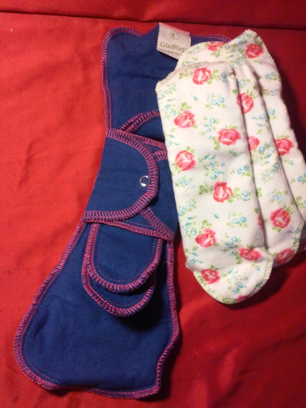 Gladrags Day & Night Reusable Cloth Pads
