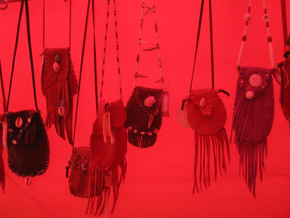 Medicine Bags by Carolyn