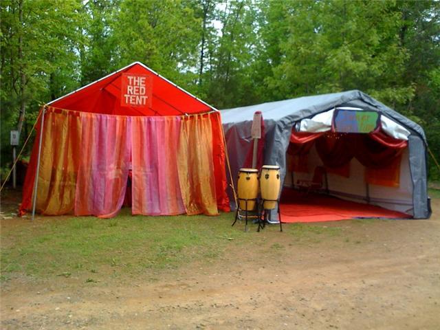 The Red Tent & The Inner Sanctum 2011