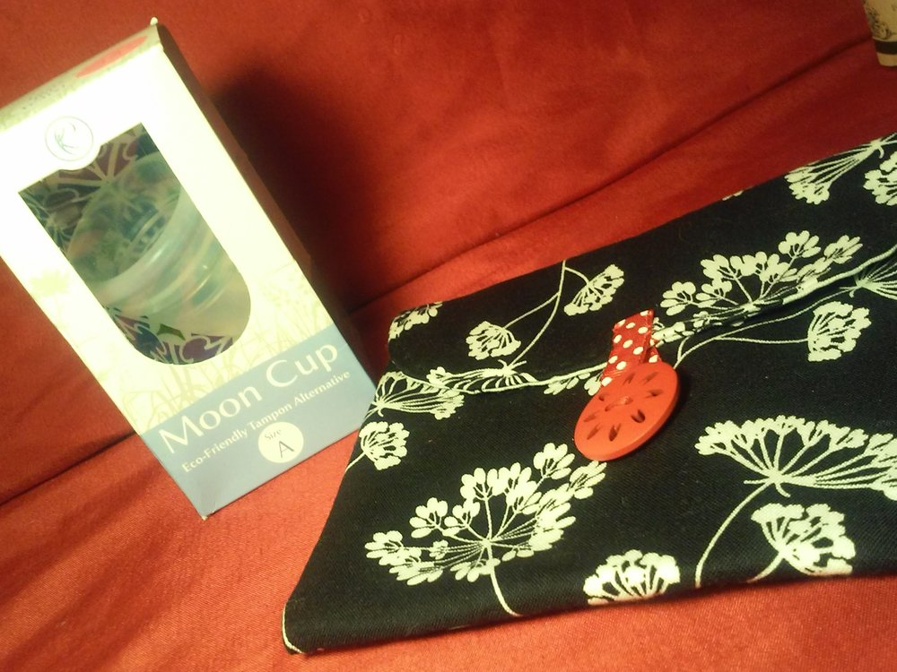 Moon Cup & Hand Made Pouch by Palmira