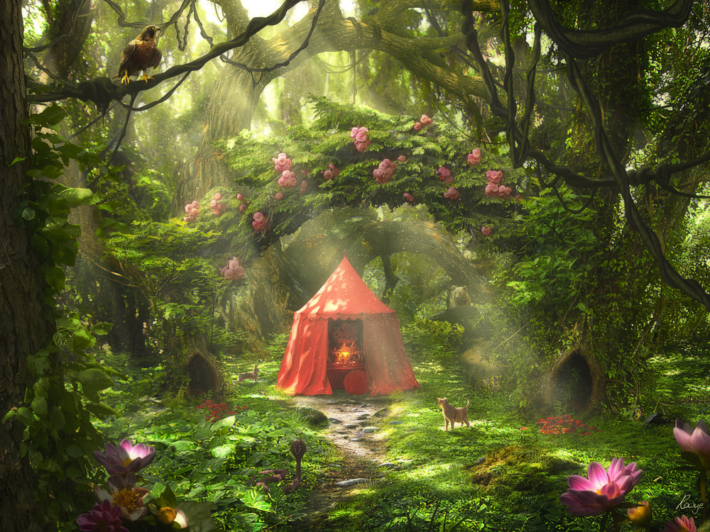 Red Tent by Roger Creus