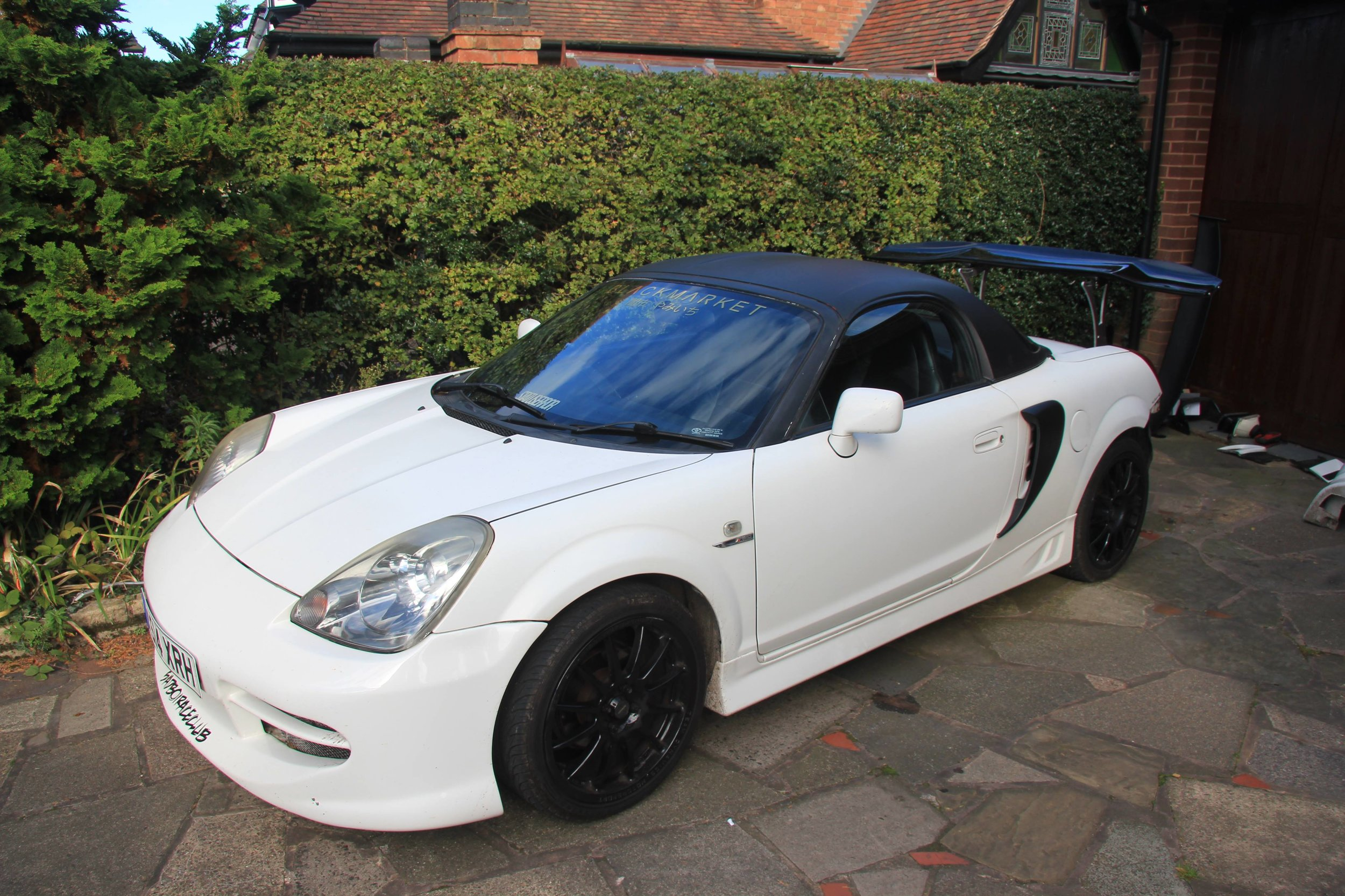 toyota mr2 chassis