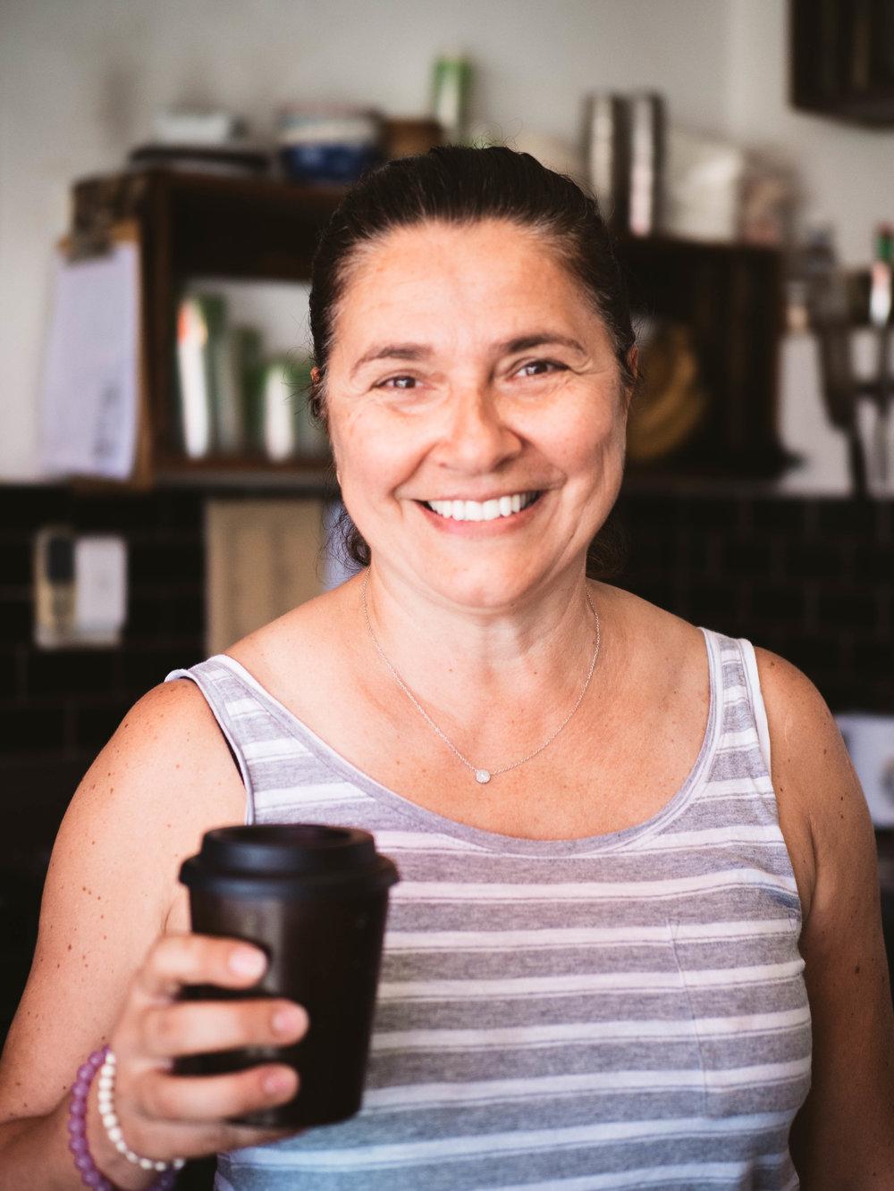Sondra Beram from Bru Coffee