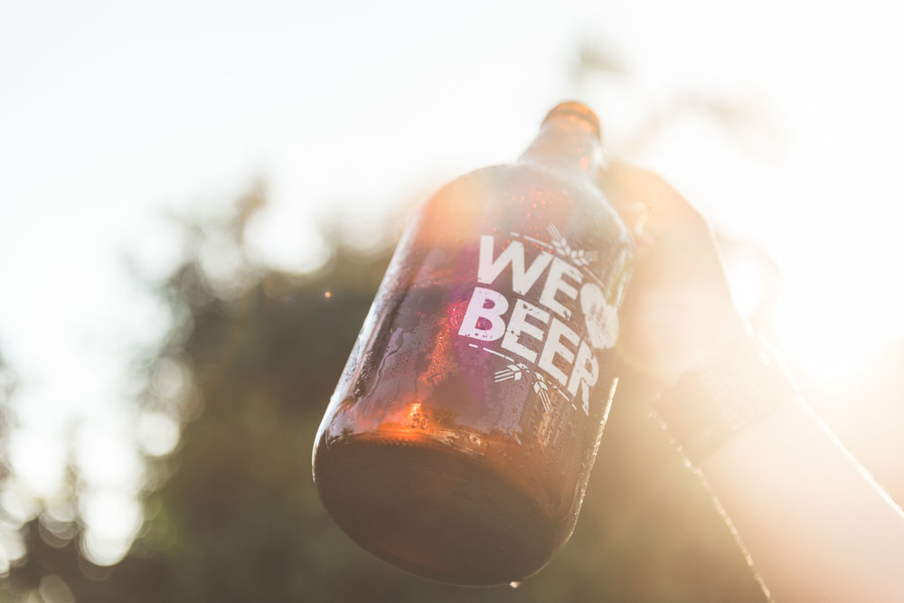 """4 Pines offers growler fills for customers to get their take-away beer in a """"zero waste friendly"""" way."""