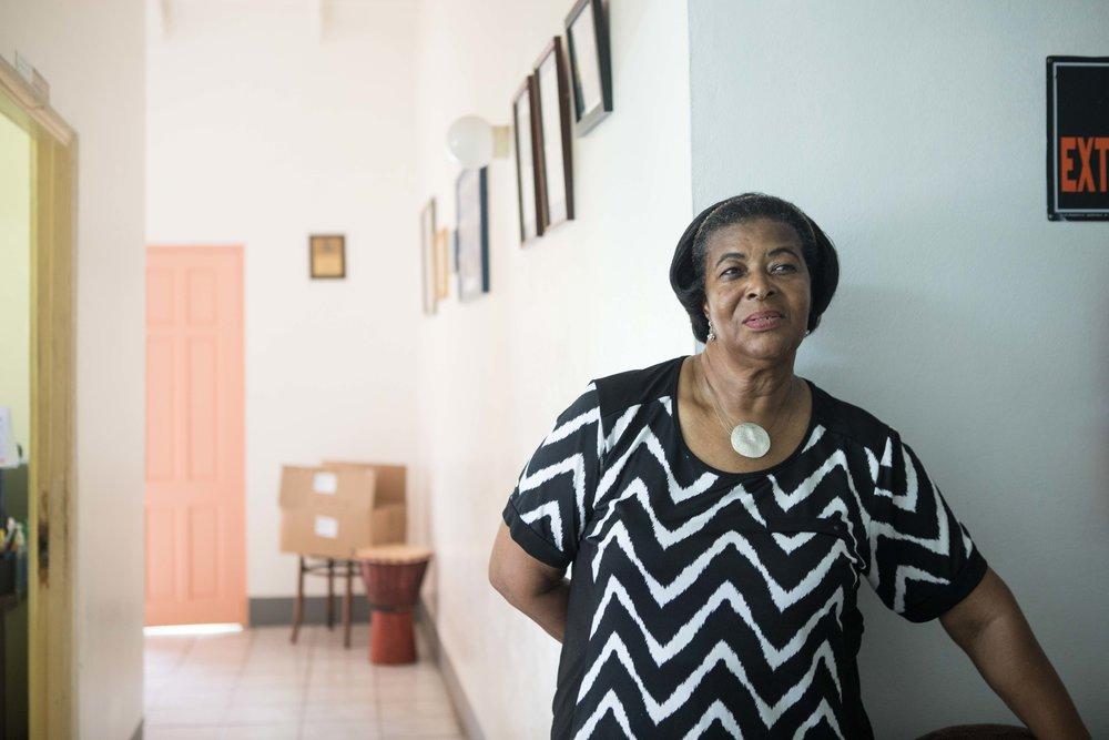 Mrs. Strahan, Manager of Dorothy Hopkins Home