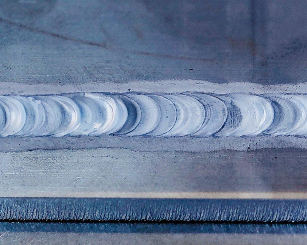 TIG welded 6061 aluminum