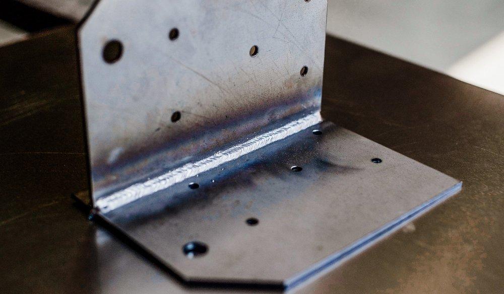 MIG welded mild steel