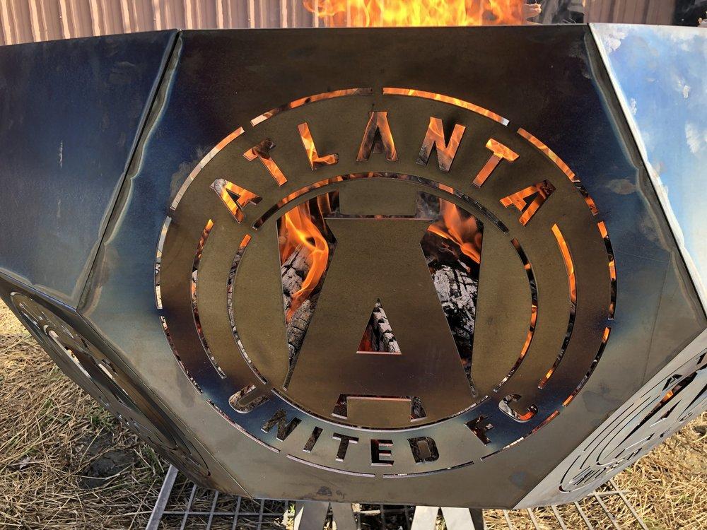 Atlanta United Fire Pit