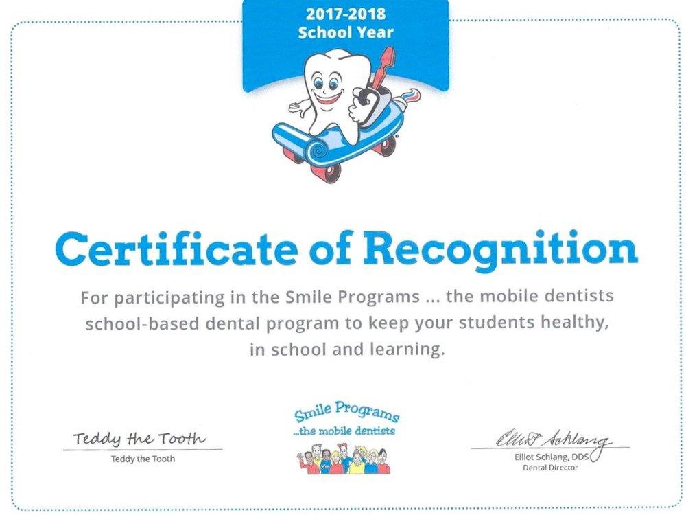 Mobile Dentist Program Wenzler Certificate.jpg