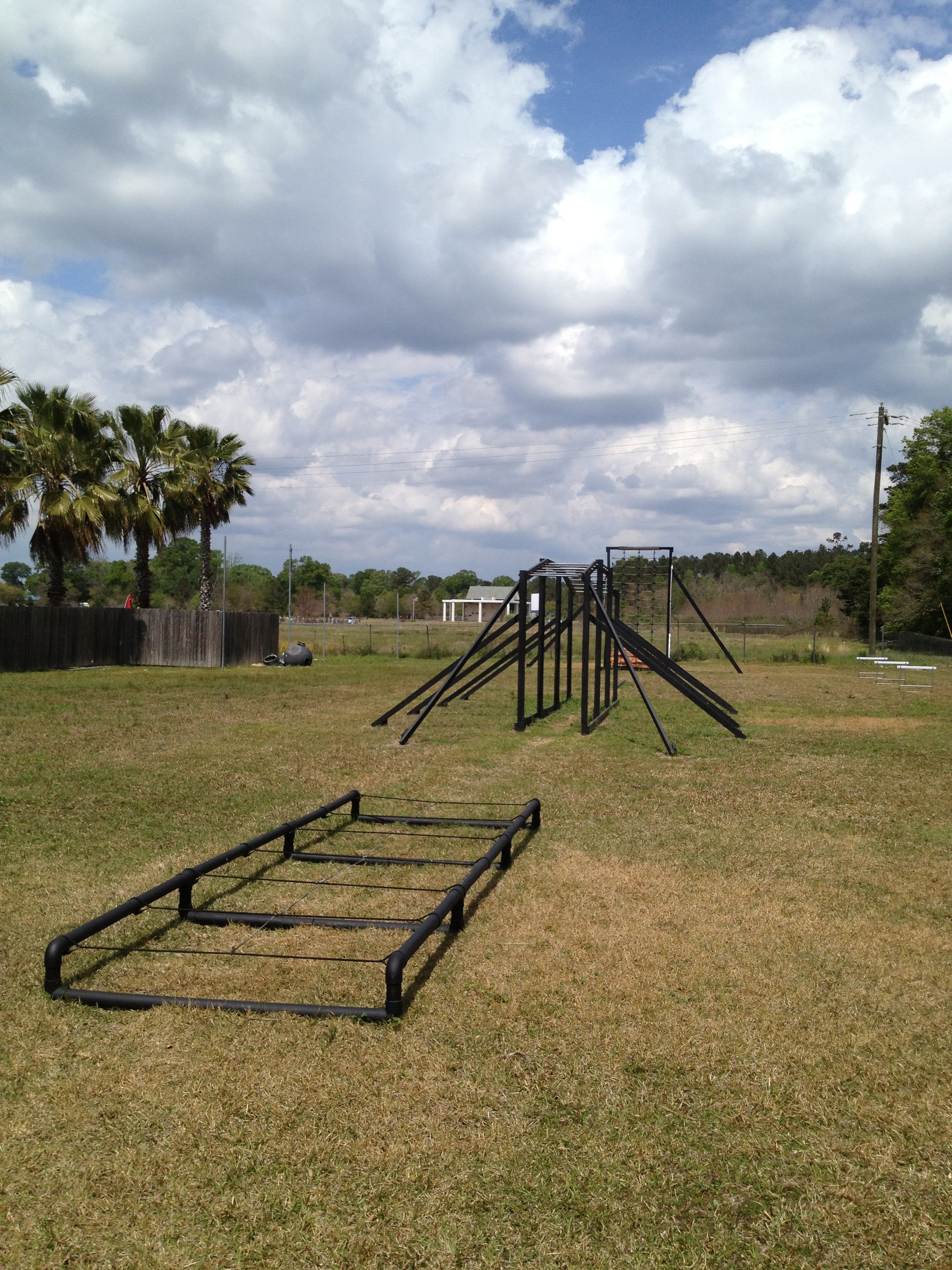Rest of obstacle course in Denham Springs