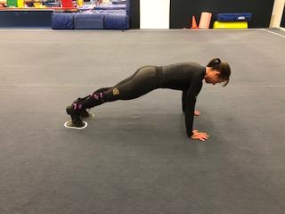 Sliding Pike - Starting position