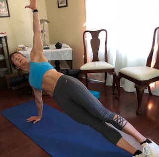 Elevated Side Plank strengthens primarily obliques