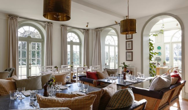 lunch at the garden house - Tucked away within a private walled garden, The Garden House is the epitome of English country charm and offers an idyllic dining experience.Date: 25th September, 12pm