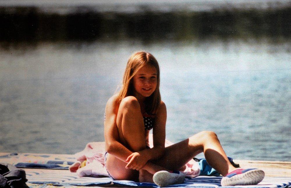 Me, summertime girl.
