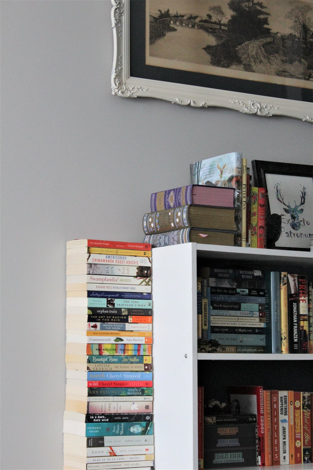 home decor shelf styling bookstack.JPG