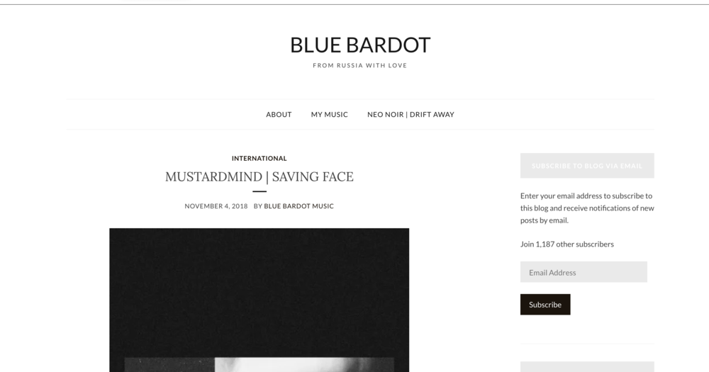 11.4.2018 Blue Bardot