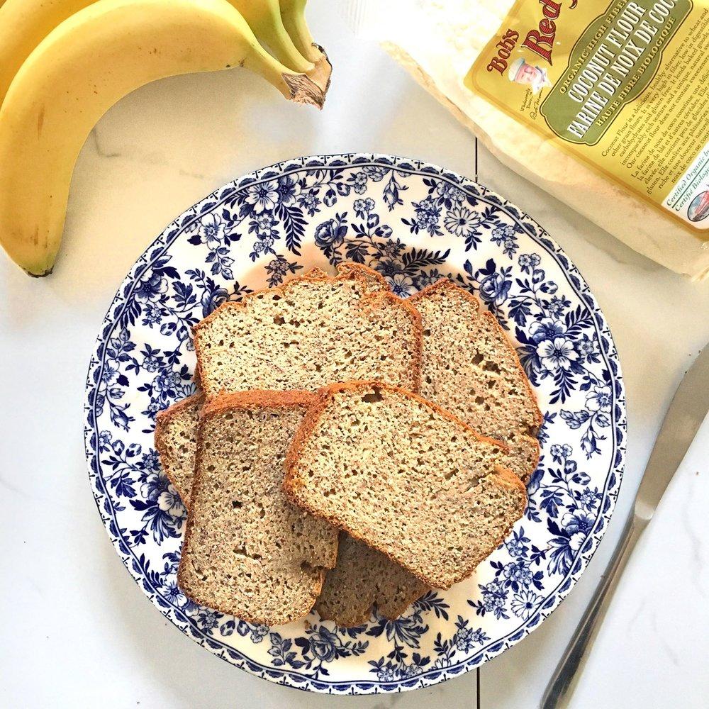 Best Ever Paleo Banana Bread