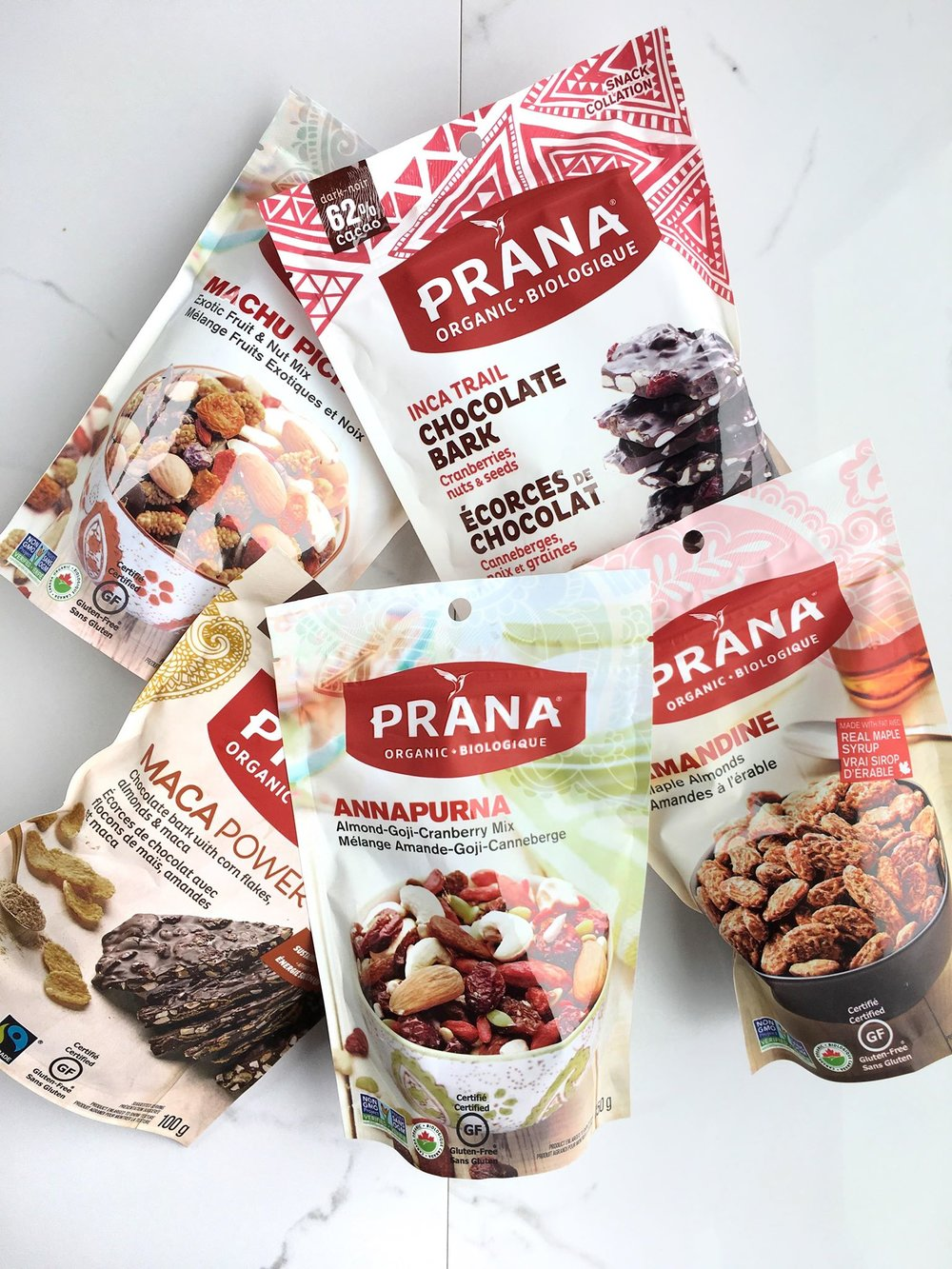 Prana Nut / Seed Mixes