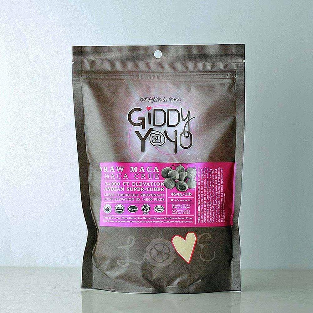 Gidd Yoyo Raw Maca Powder