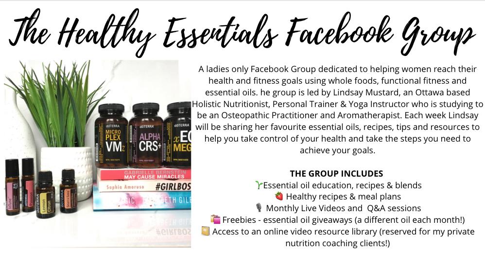 Healthy Essentials Facebook Group