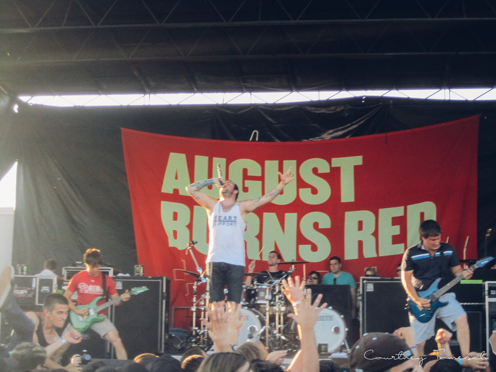 August Burns Red -  I LOVE this band! They killed it. I have never left seeing them disappointed.