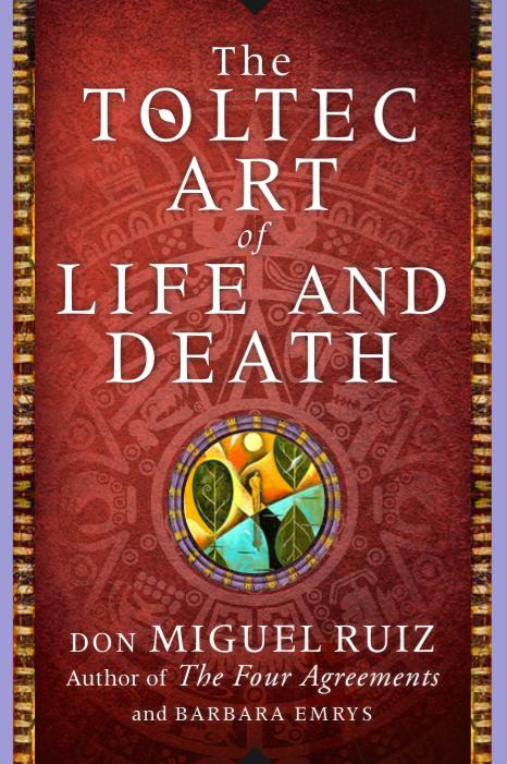 Book Cover dMR Toltec Art