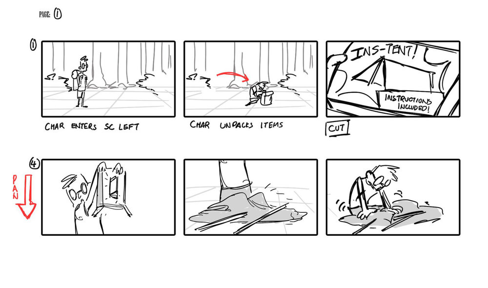 Clickthrough for full storyboard