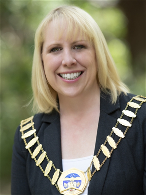 Dr Michelle Byrne, Mayor of The Hills