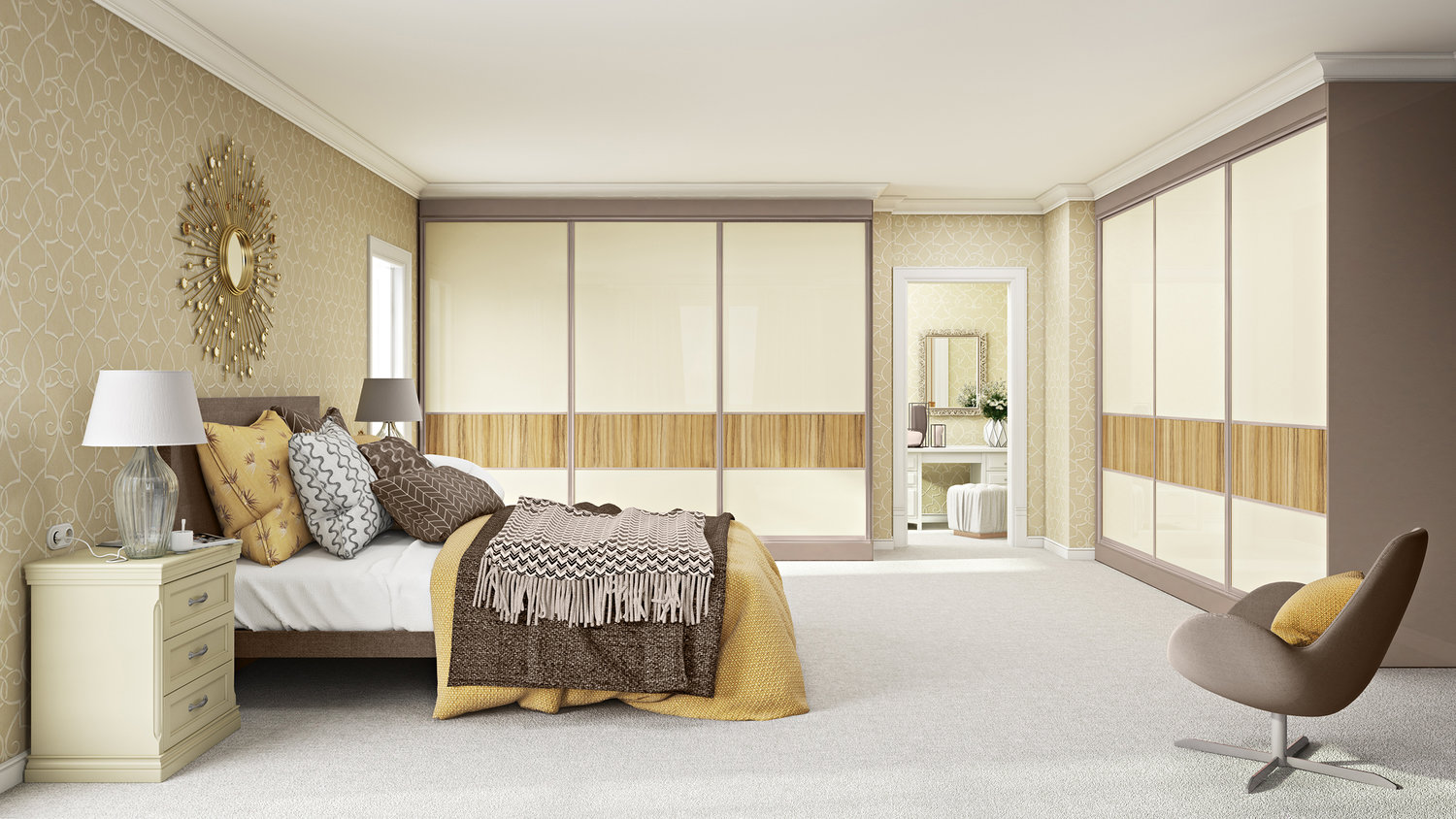 Interior Colour Schemes For A North Facing Bedroom The Tresana Collection