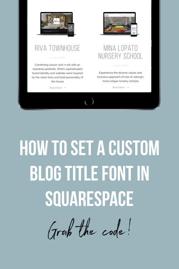 Blog — Ina Corver Web & Graphic Design