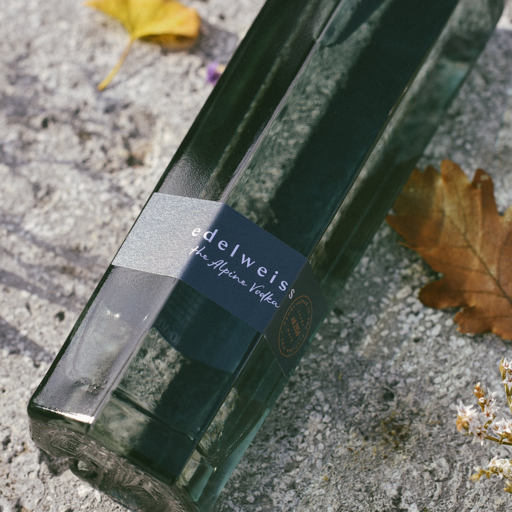 edelweiss – the Alpine Vodka
