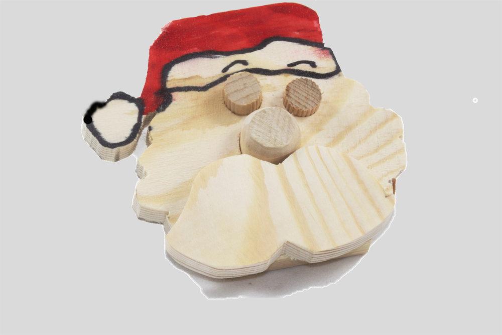 Make your own Christmas decorations [Santa]