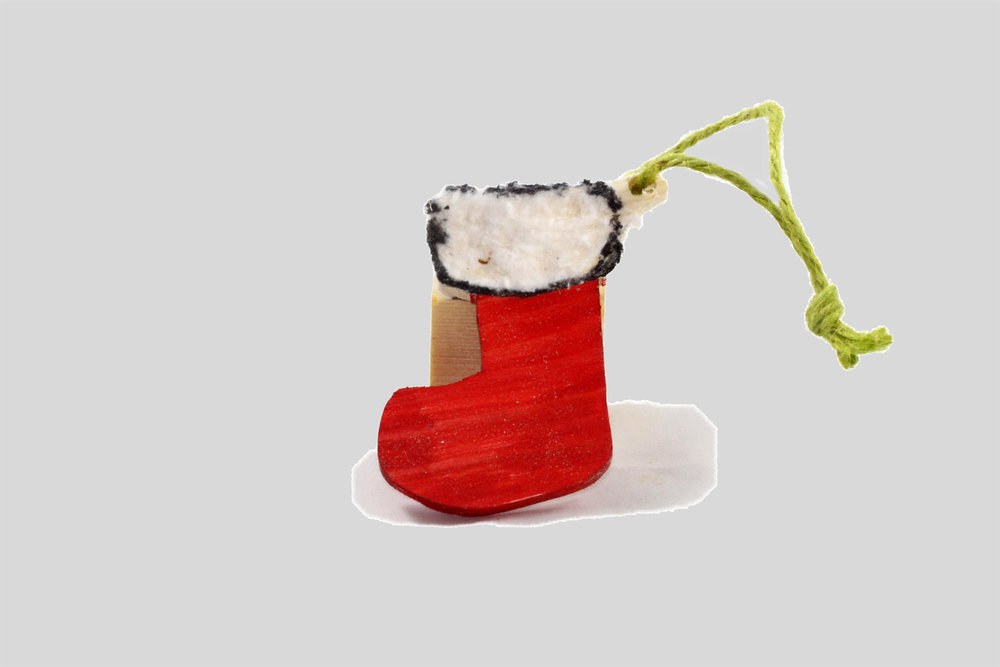 Make your own Christmas Decorations [Stocking]