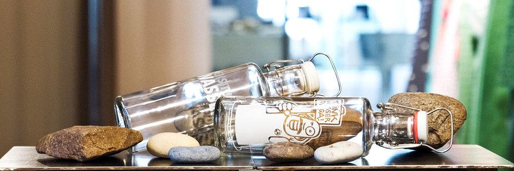 soulbottles - Nachhaltige Trinkflaschen aus Glas