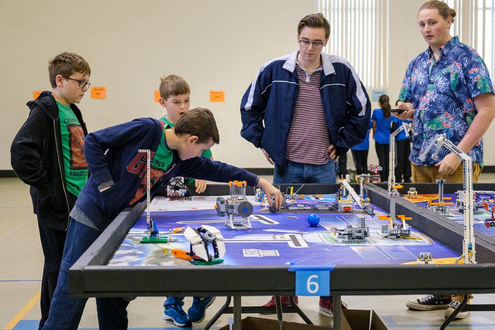 Team Astrobots - 2018 CLES Robotics