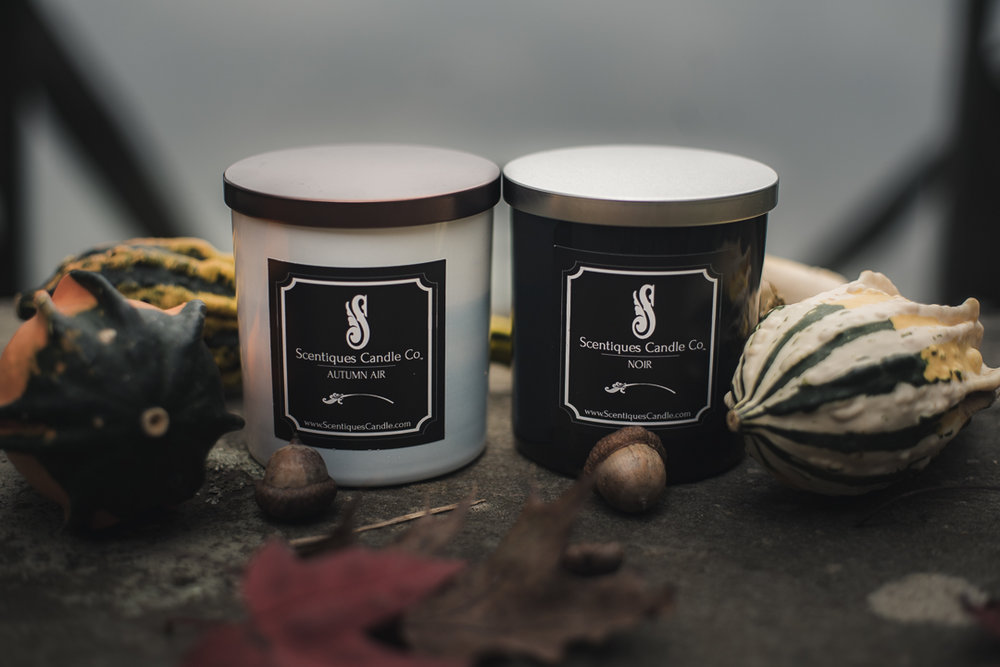 Shot for Scentiques Candle Company.
