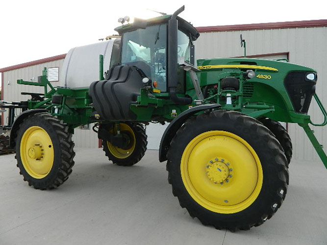 2014 John Deere 4830   HOURS: 634   STOCK #:  NA   CONDITION:   $210,000    DETAILS