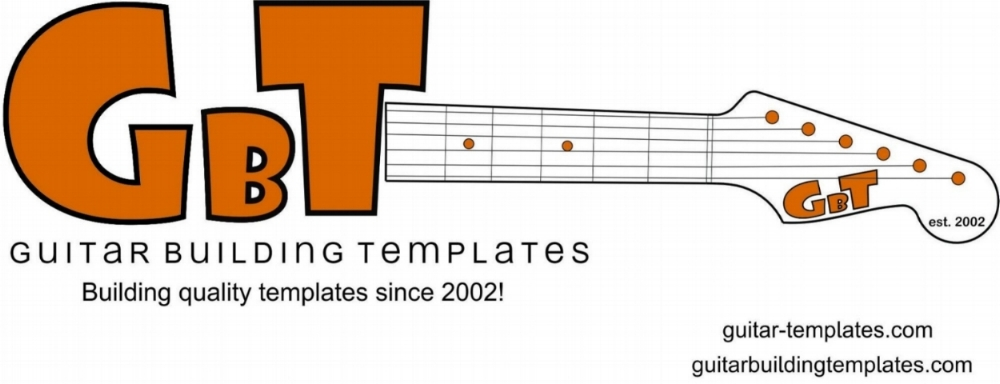 shop guitar building templates