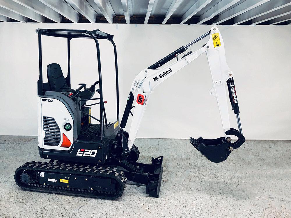 Bobcat E20 - Mini Excavator