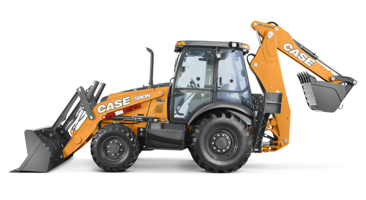 Case 580 N - Back hoe 4x4
