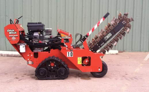"Ditch Witch RT16 - Trencher 30"" deep"