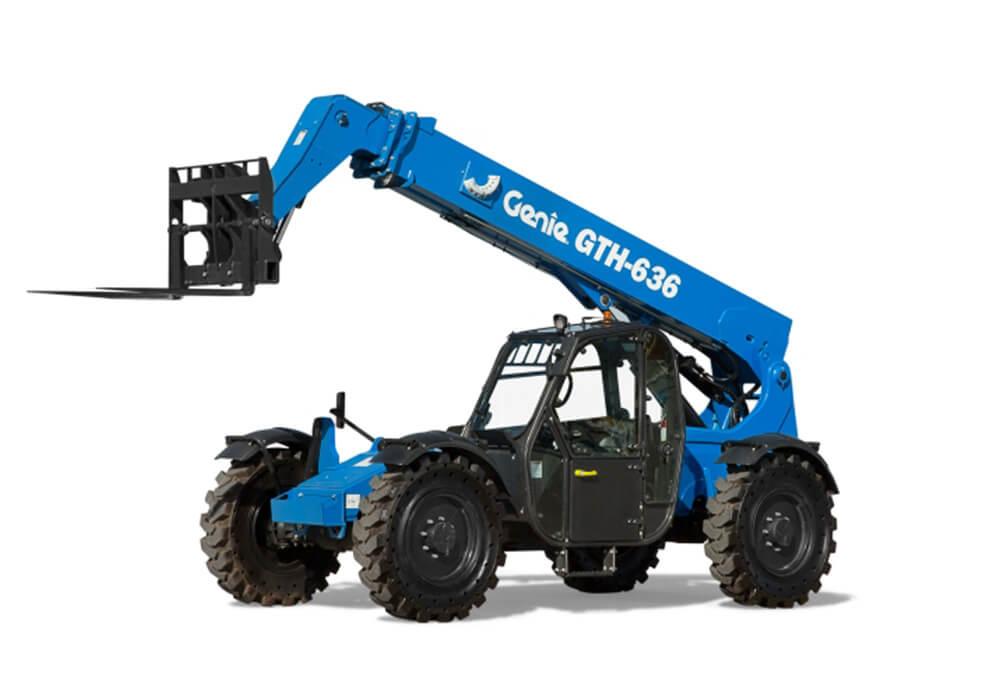 Genie GTH 636 - Forklift 6,000# 4x4x4