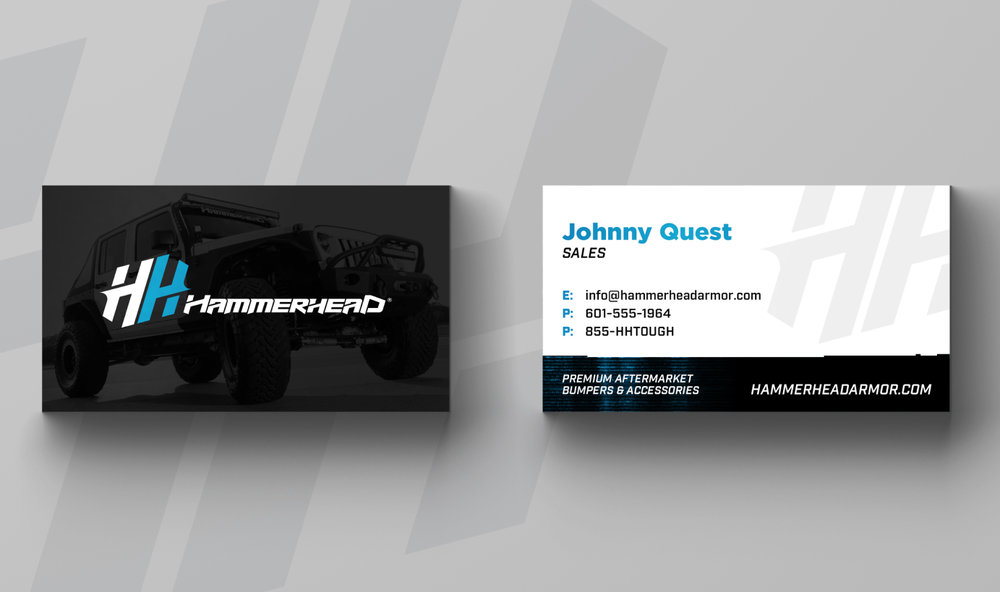 HAMMERHEAD ARMOR    Business Card