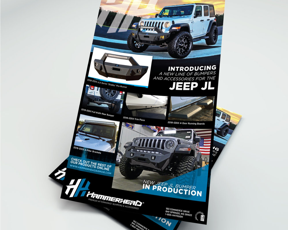 HAMMERHEAD ARMOR    Jeep Product Flyer