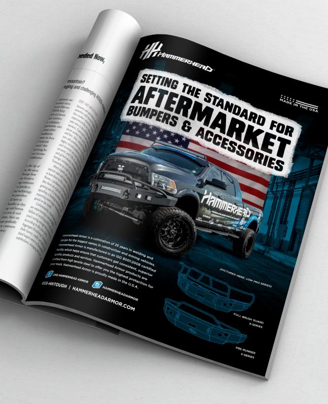 HAMMERHEAD ARMOR    Magazine Ad